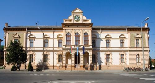 Kiskőrös Városháza Épülete