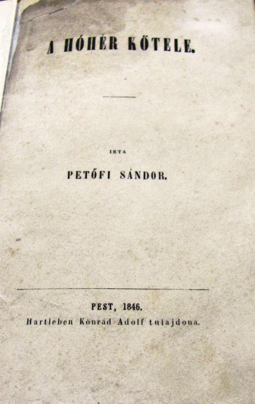 Petőfi Sándor Városi Könyvtár Petőfi Gyűjteménye