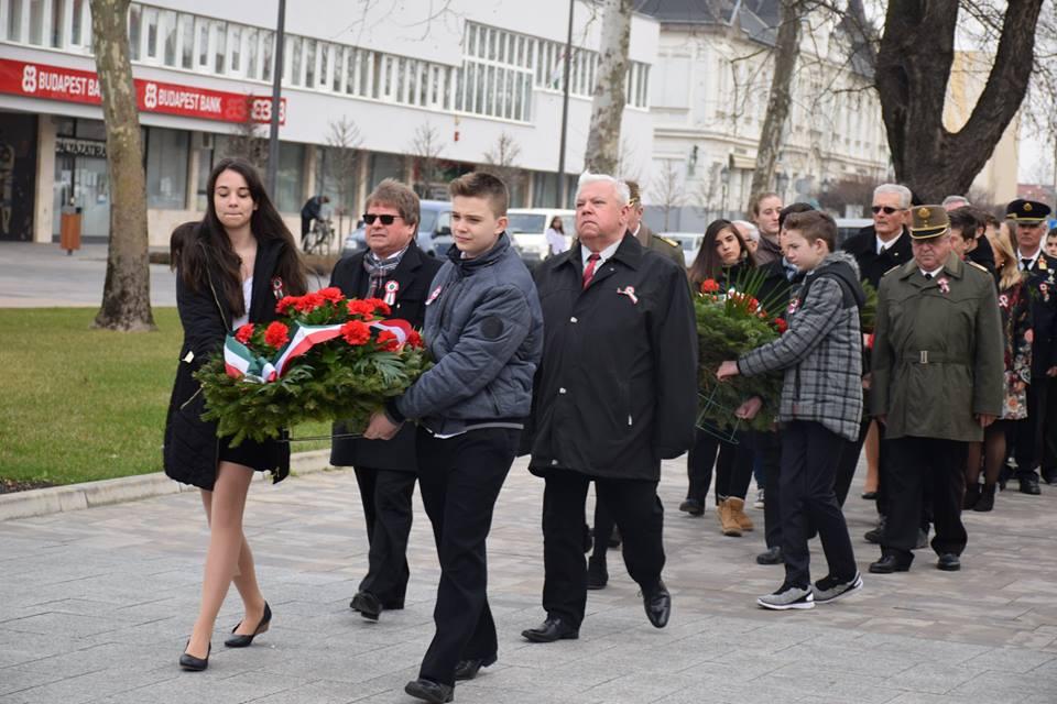Megemlékezés Petőfi városában