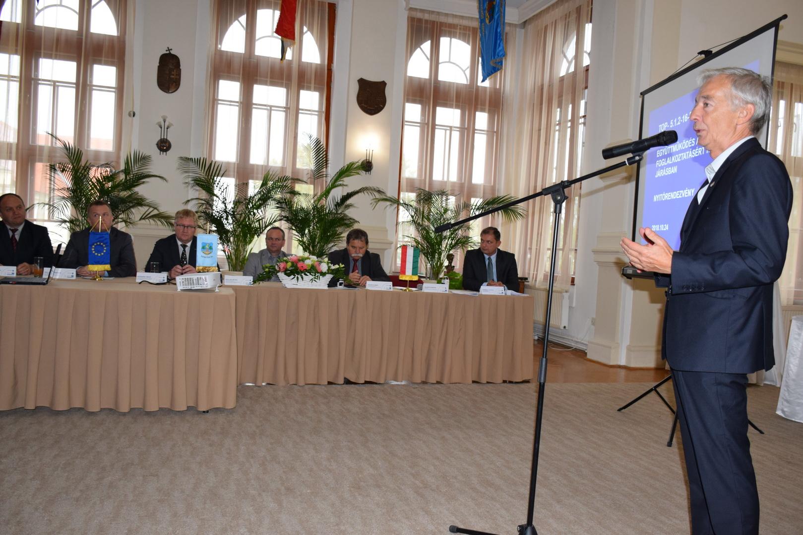 Együttműködés a helyben foglalkoztatásért Kiskőrös járásban - nyitórendezvény