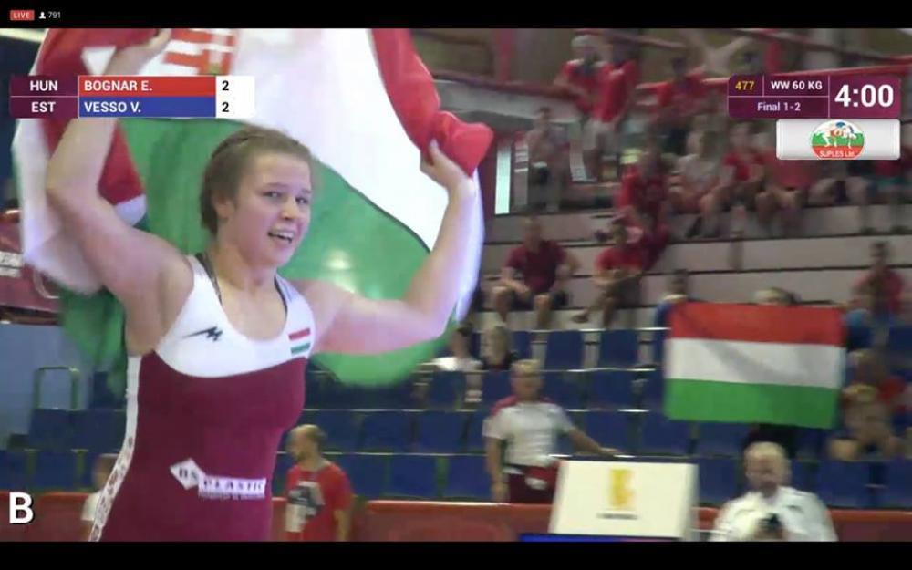 Bognár Erika Európa-bajnok!