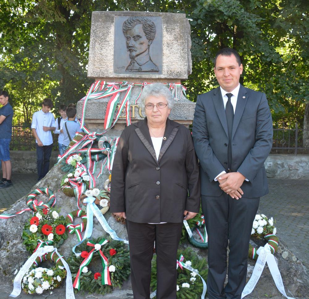 Fehéregyházán is megemlékeztek Petőfi haláláról