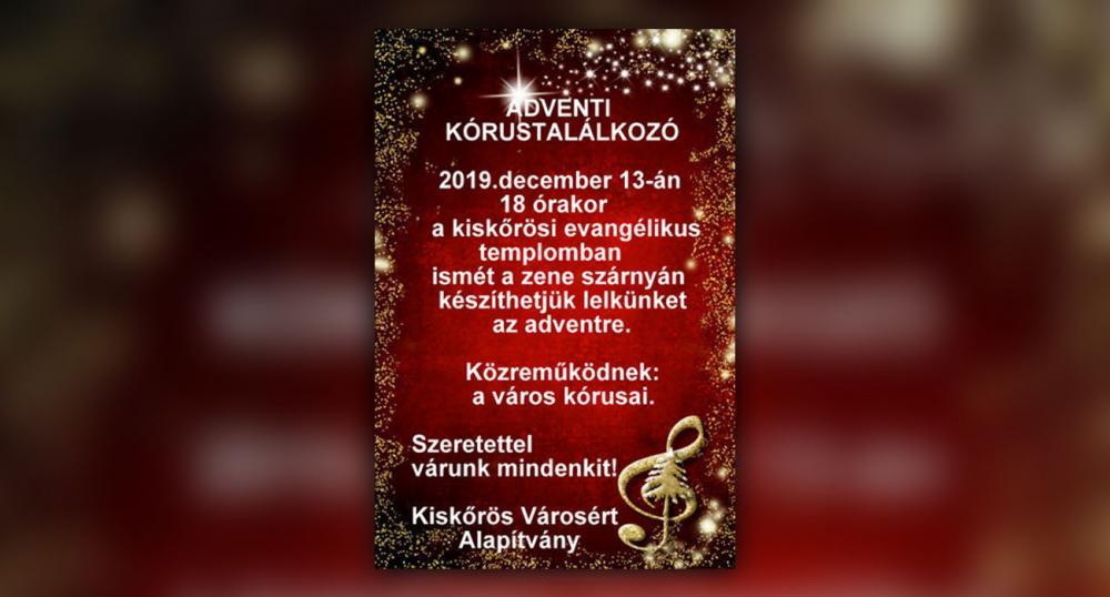 Adventi Kórustalálkozó - 2019