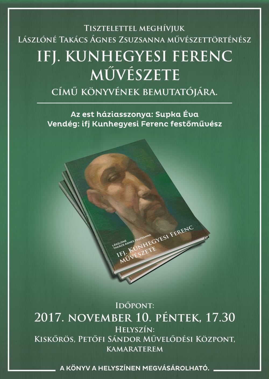 Könyvbemutató - Ifj. Kunhegyesi Ferenc művészete