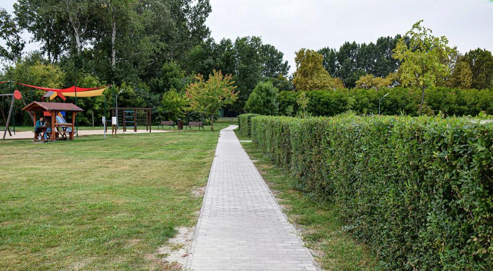 Tovább szépül a Krimpen Park