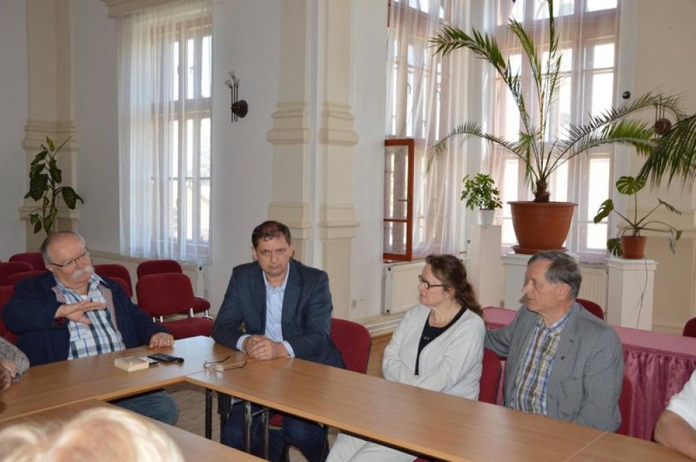 Finn delegáció látogatott városunkba