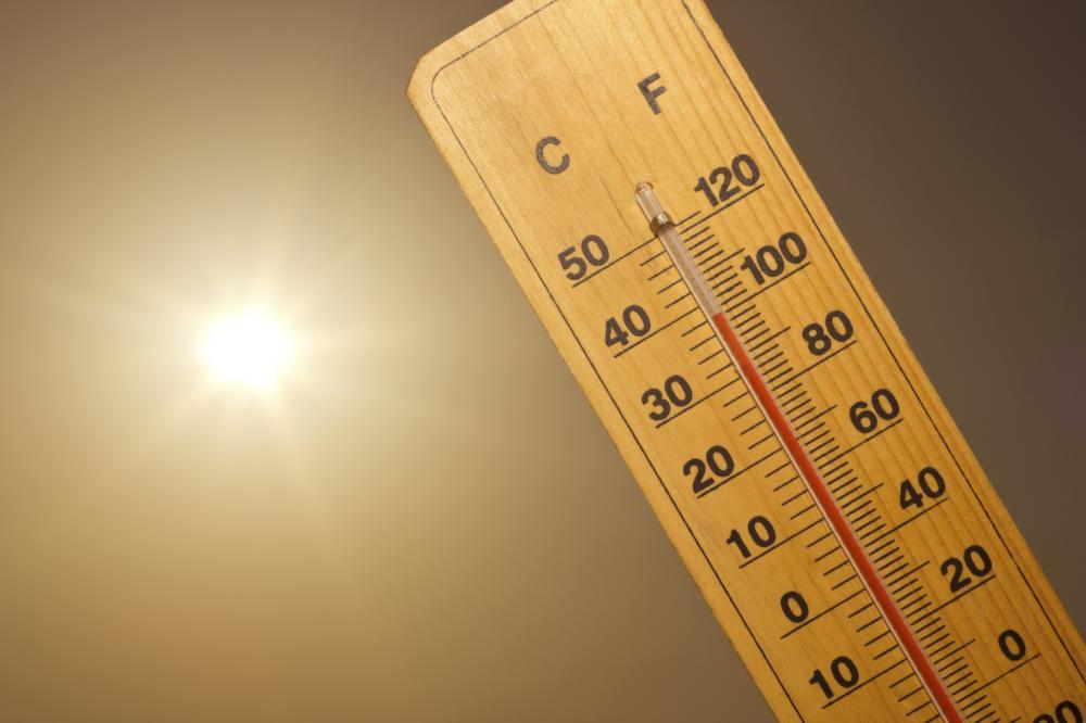 Harmadfokú hőségriasztás