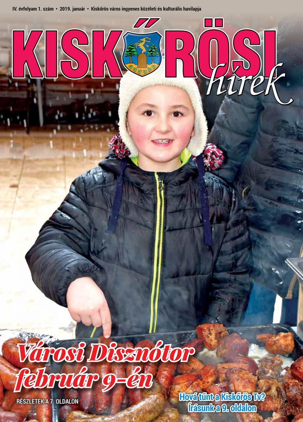 Kiskőrösi Hírek - 2019. januári szám