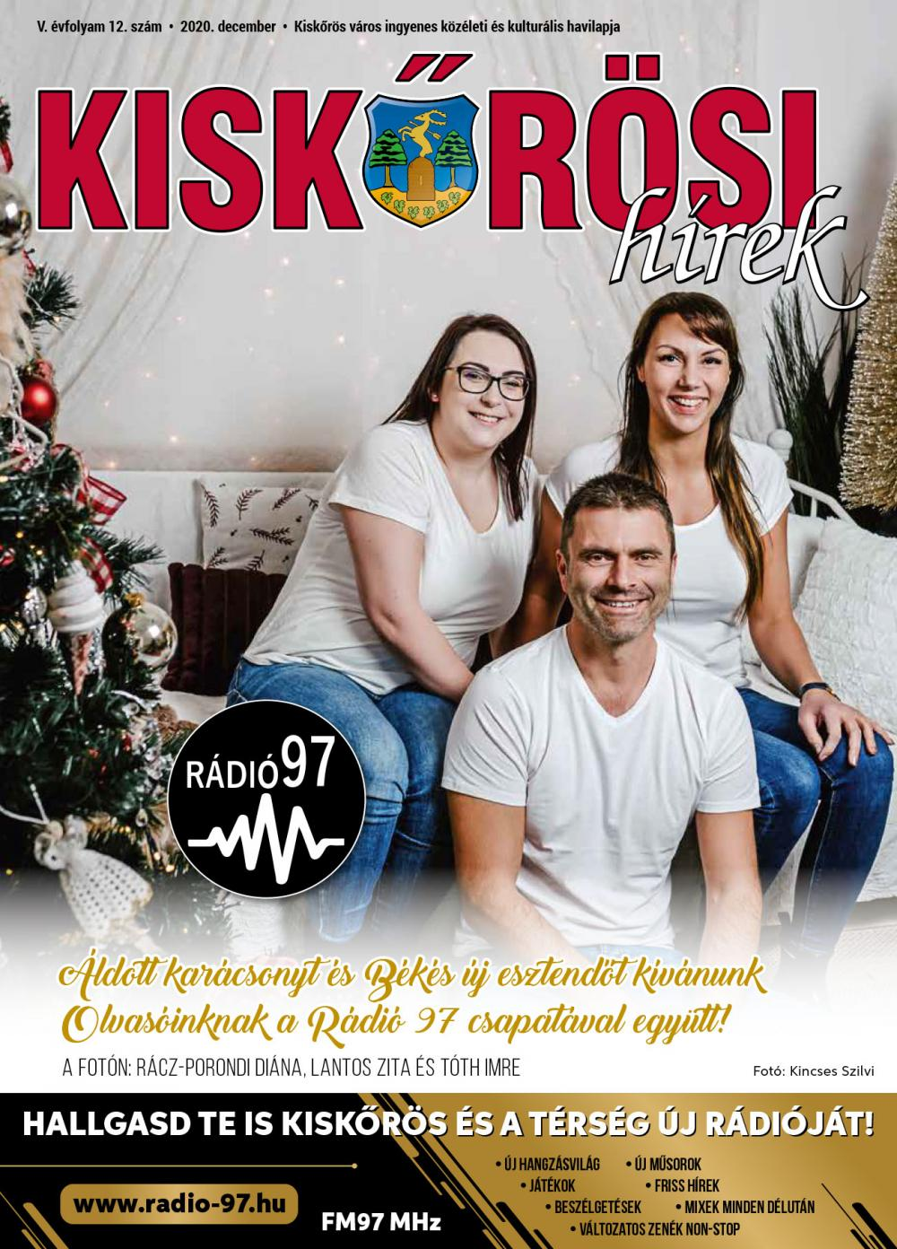 Kiskőrösi Hírek - 2020. decemberi szám