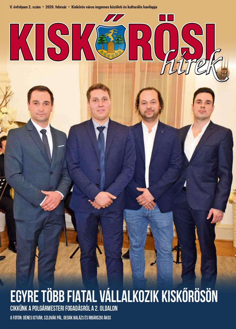 Kiskőrösi Hírek - 2020. februári szám