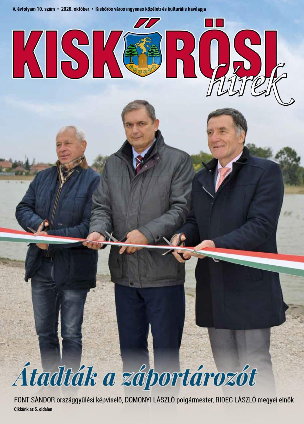 Kiskőrösi Hírek - 2020. októberi szám