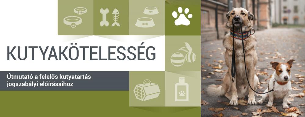 Kutyakötelesség - Útmutató a felelős kutyatartás jogszabályi előírásaihoz