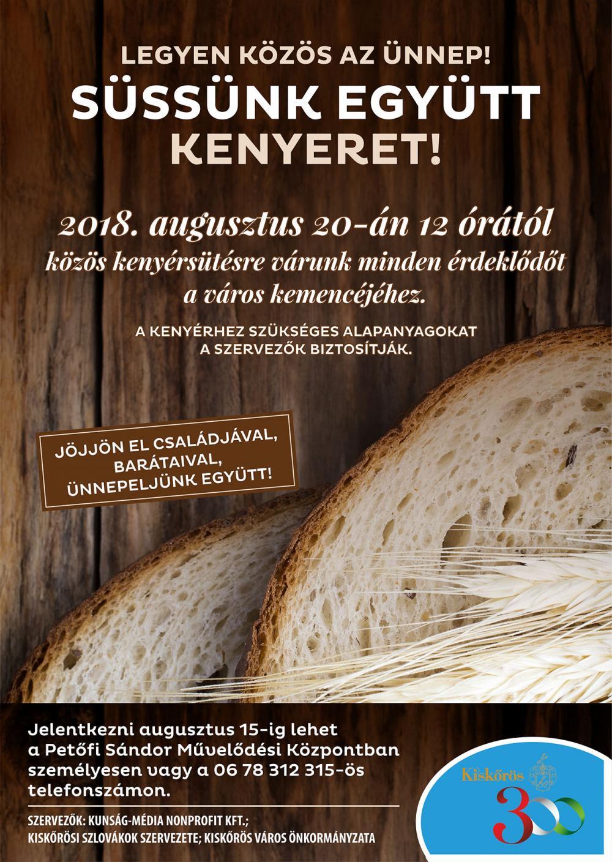 Közös kenyérsütés