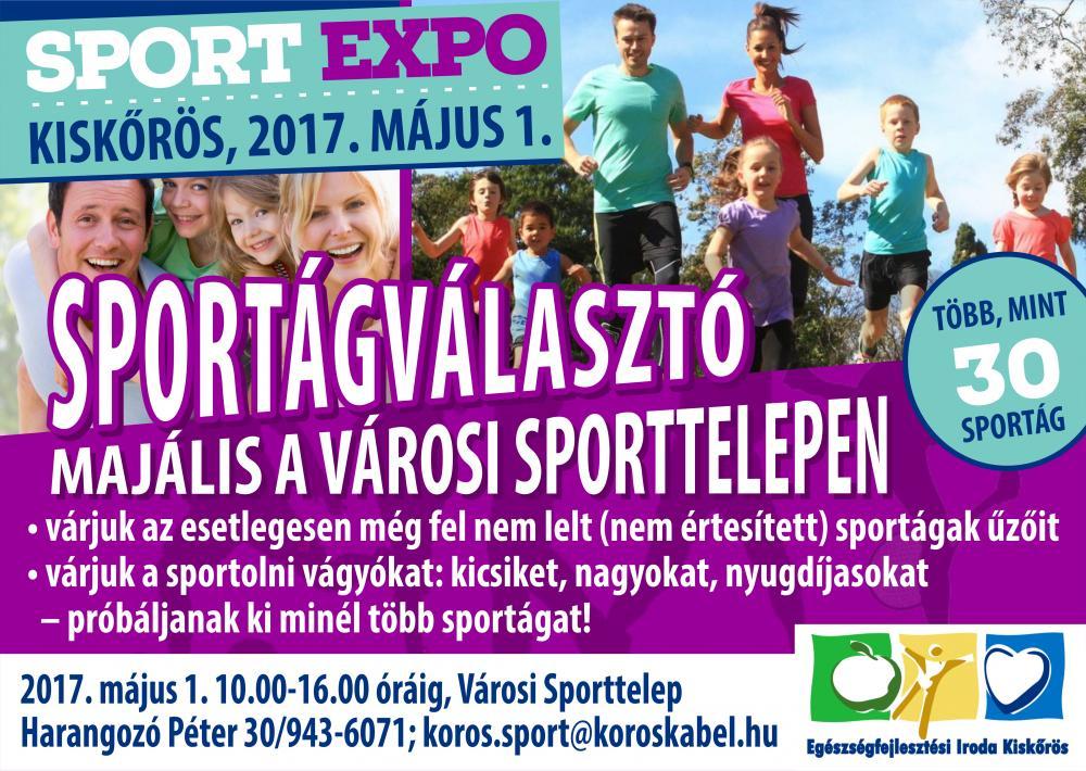 Sportexpo - sportágválasztó majális