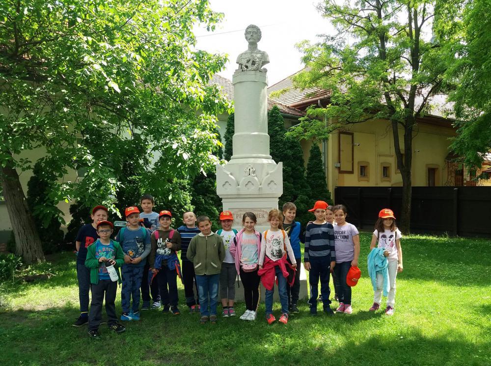 Temesvári gyerekek ismerkedtek megyénkkel - Kiskőrösre is eljutottak