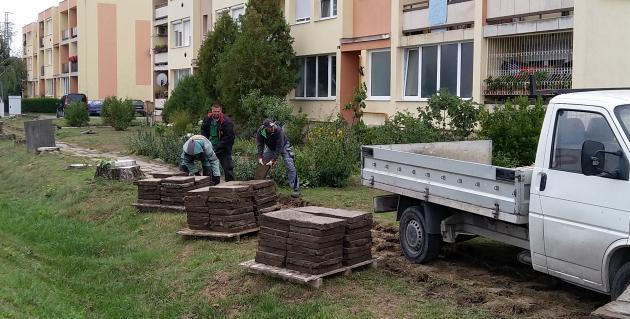 Pályázati támogatással fasort is ültetnek