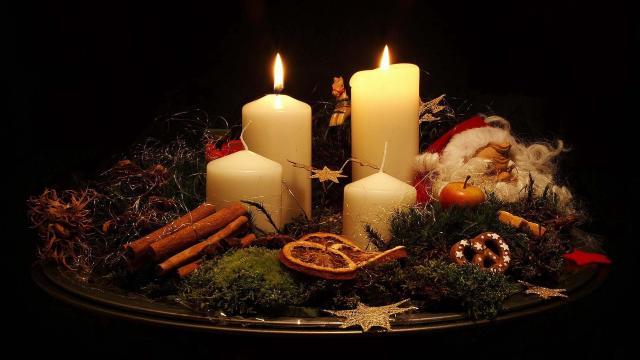 Gyertyagyújtás advent második vasárnapján